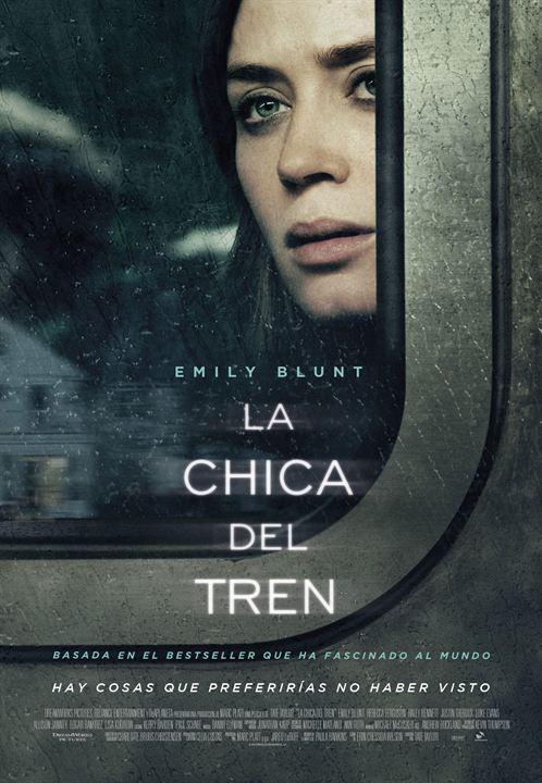 La chica del tren : Cartel