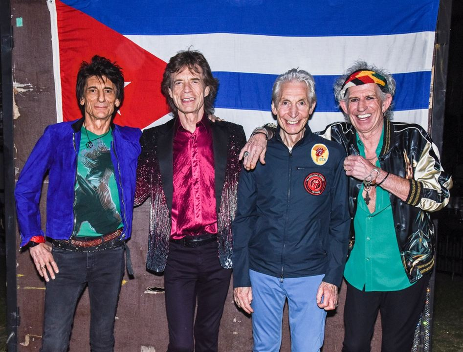 The Rolling Stones in Cuba - Havana Moon : Foto Charlie Watts, Keith Richards, Mick Jagger, Ronnie Wood, The Rolling Stones