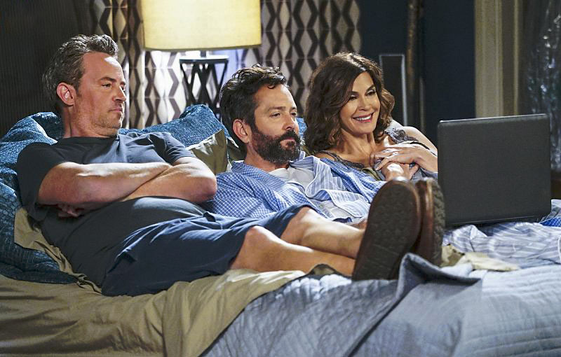 Foto Matthew Perry, Teri Hatcher, Thomas Lennon