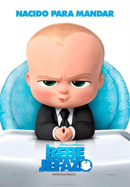 El bebé jefazo : Cartel
