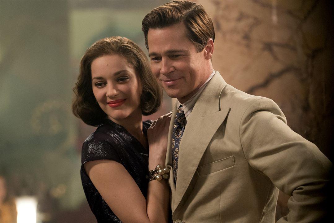 Aliados : Foto Brad Pitt, Marion Cotillard