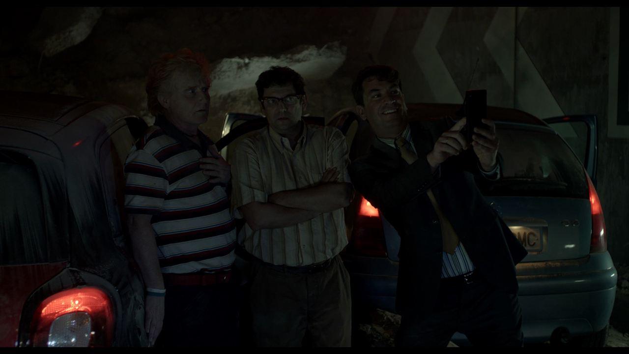 Los del túnel : Foto Arturo Valls, Enrique Martinez, Manolo Solo