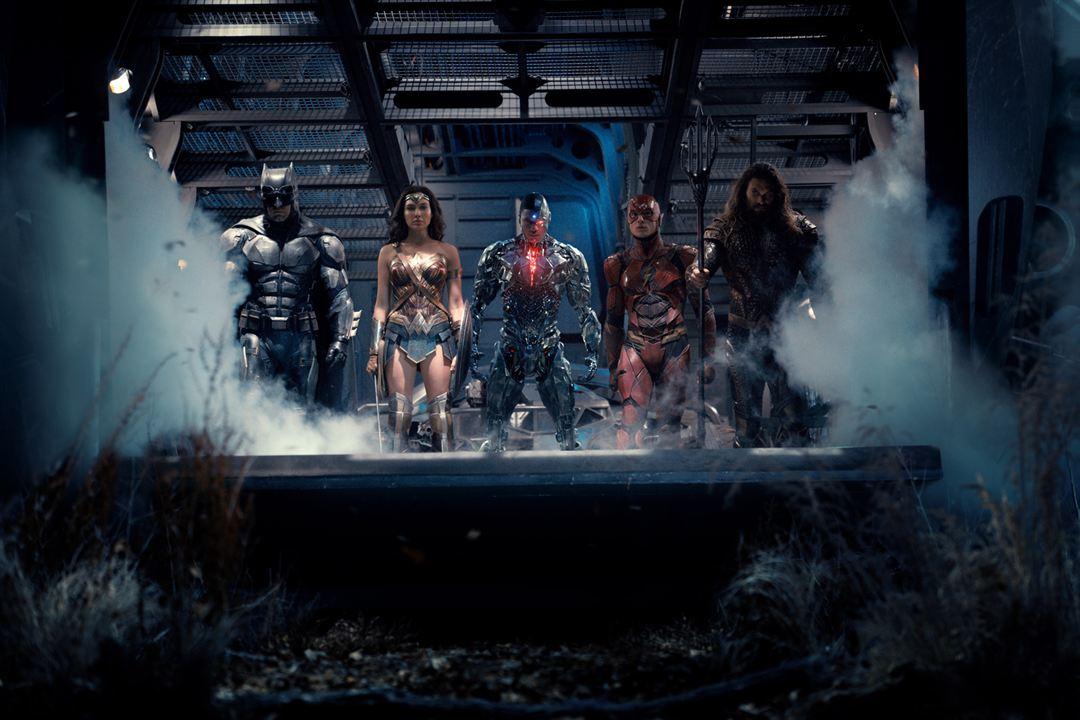 Liga de la Justicia : Foto Ben Affleck, Ezra Miller, Gal Gadot, Jason Momoa, Ray Fisher