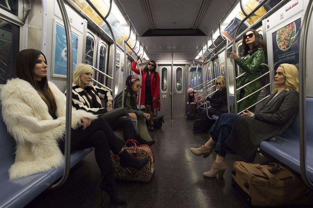 Ocean's 8 : Foto Anne Hathaway, Awkwafina, Cate Blanchett, Helena Bonham Carter, Mindy Kaling
