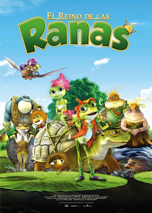 El reino de las ranas : Cartel