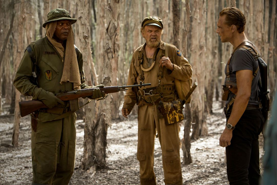 Kong: La Isla Calavera : Foto John C. Reilly, Samuel L. Jackson, Tom Hiddleston
