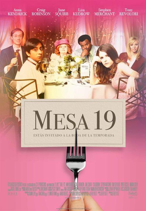 cartel de mesa 19 poster 1