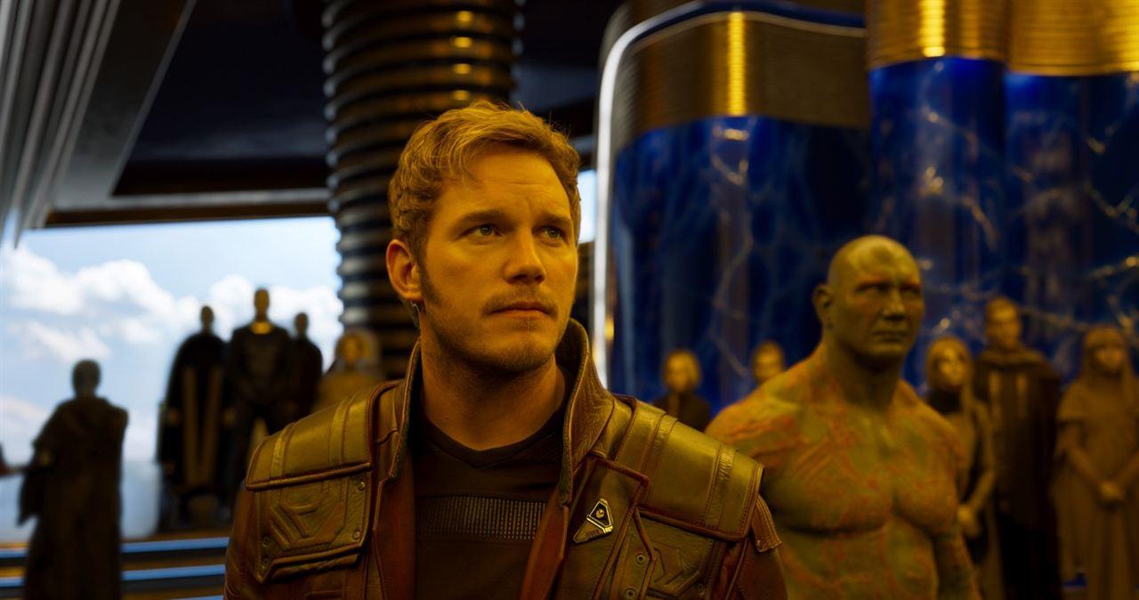 Guardianes de la Galaxia Vol. 2 : Foto Chris Pratt, Dave Bautista