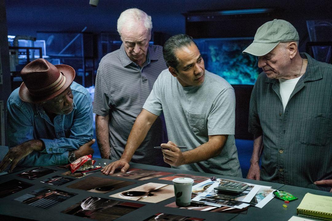 Un golpe con estilo : Foto Alan Arkin, John Ortiz, Michael Caine, Morgan Freeman