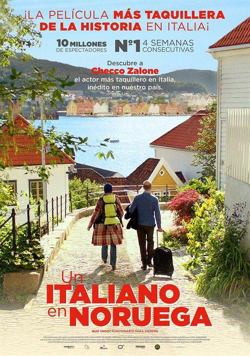 Un italiano en Noruega : Cartel