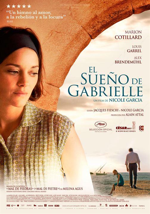 El sueño de Gabrielle : Cartel