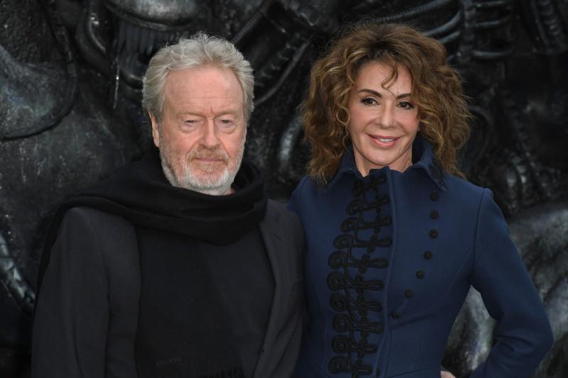 Alien: Covenant : Couverture magazine Ridley Scott