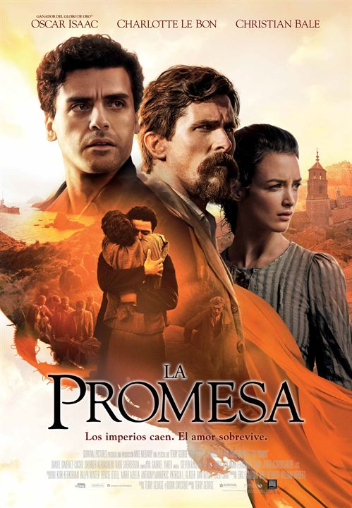 La promesa : Cartel