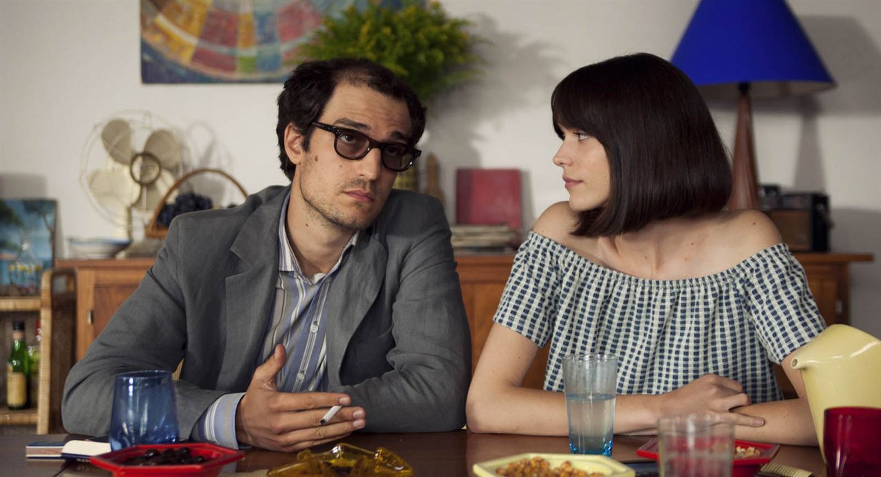 Mal genio (Le redoutable) : Foto Louis Garrel, Stacy Martin