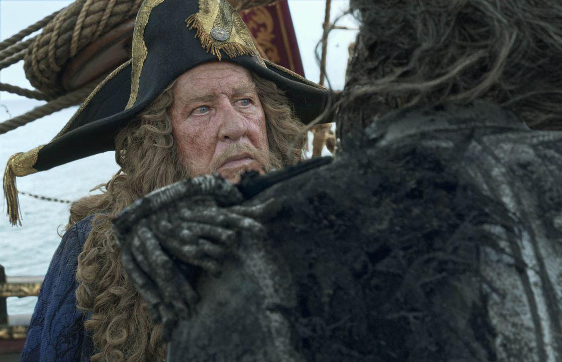 Piratas del Caribe: La venganza de Salazar : Foto Geoffrey Rush
