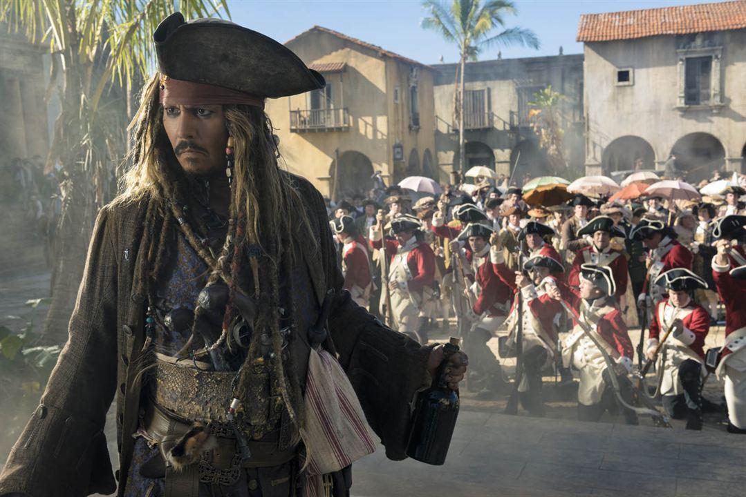 Piratas del Caribe: La venganza de Salazar : Foto Johnny Depp