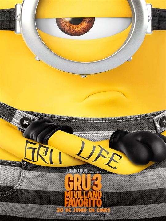 Gru 3. Mi villano favorito : Cartel