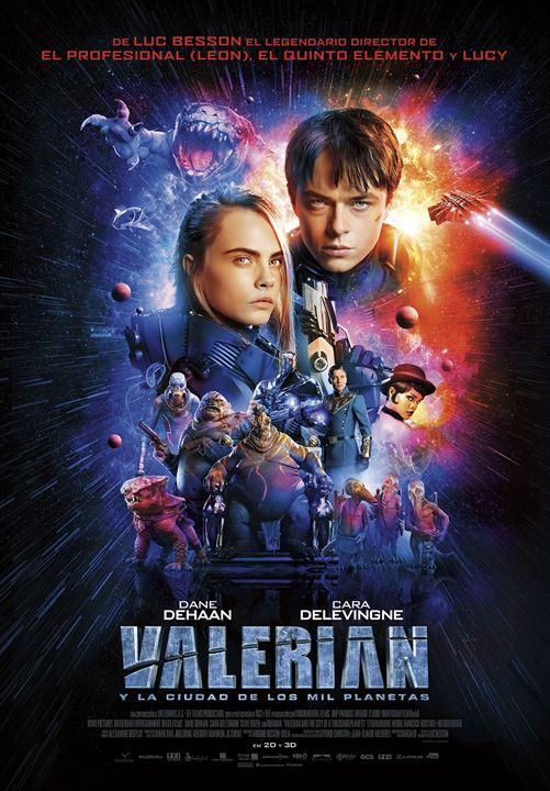 Valerian y la ciudad de los mil planetas : Cartel