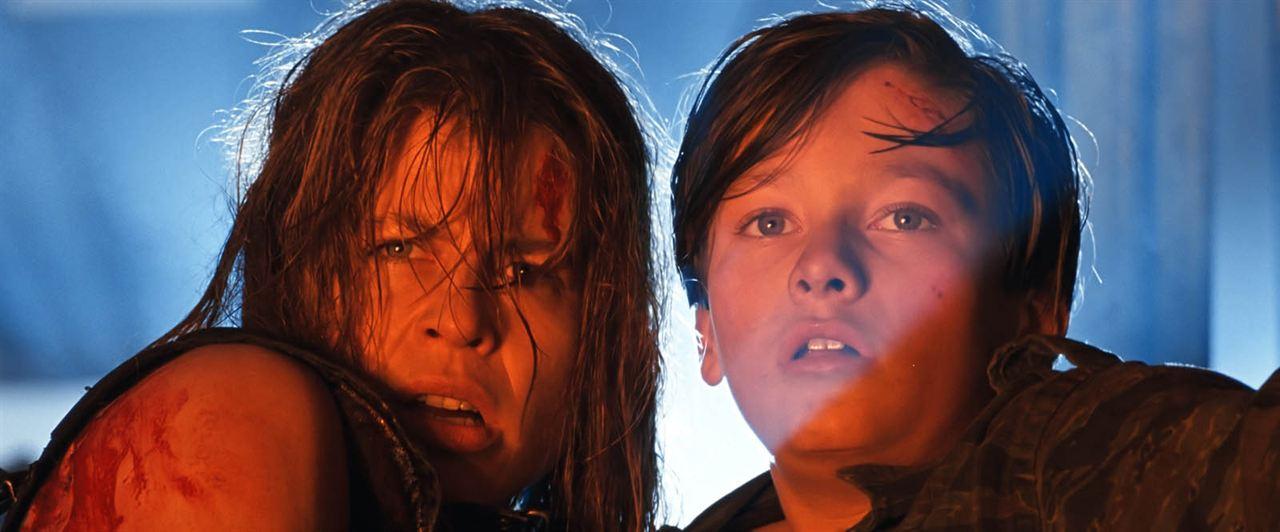 Terminator 2: El juicio final : Foto Edward Furlong, Linda Hamilton