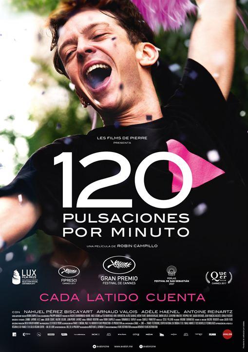 120 Pulsaciones por minuto : Cartel