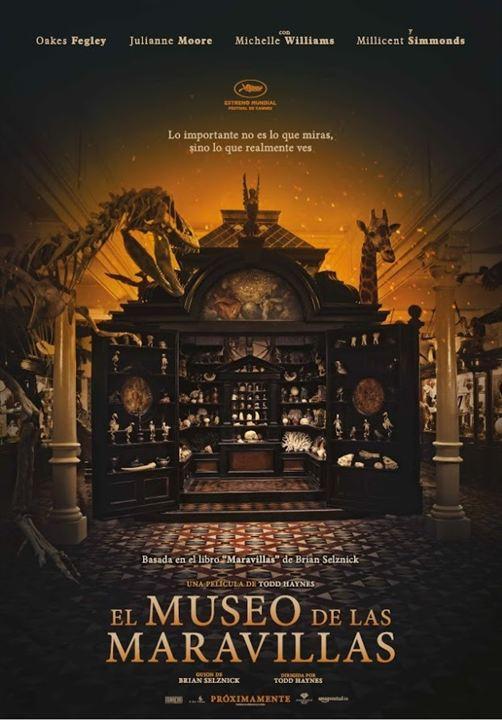 El museo de las maravillas : Cartel