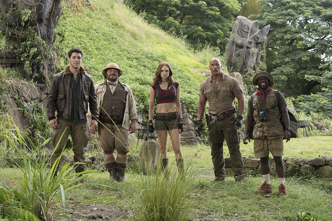 Jumanji: Bienvenidos a la jungla : Foto Dwayne Johnson, Jack Black, Karen Gillan, Kevin Hart, Nick Jonas