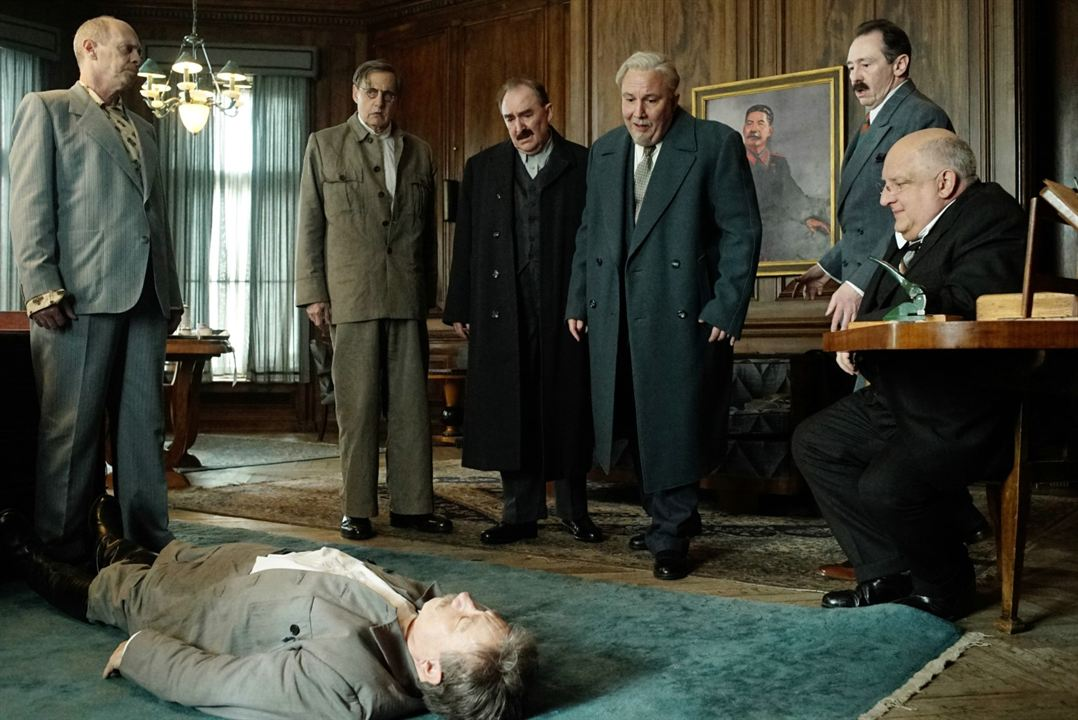 La muerte de Stalin : Foto Jeffrey Tambor, Paul Whitehouse, Simon Russell Beale, Steve Buscemi