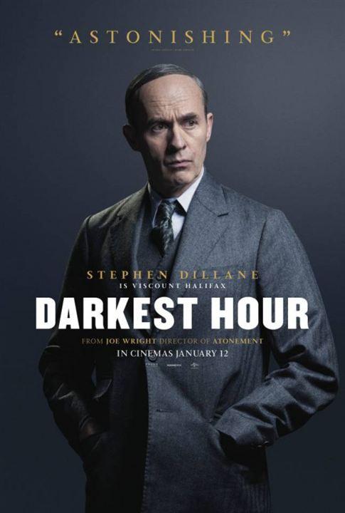 El instante más oscuro : Cartel