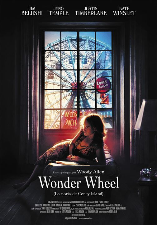 Wonder Wheel (La noria de Coney Island) : Cartel
