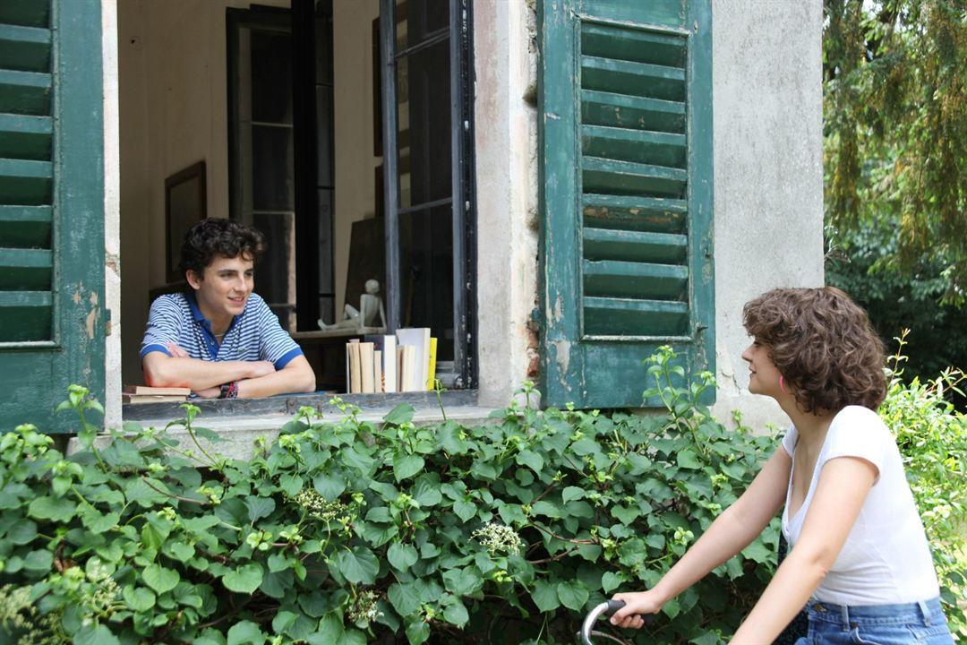 Call Me By Your Name : Foto Esther Garrel, Timothée Chalamet