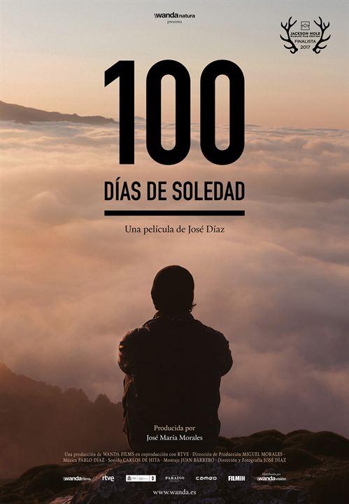 100 días de soledad : Cartel
