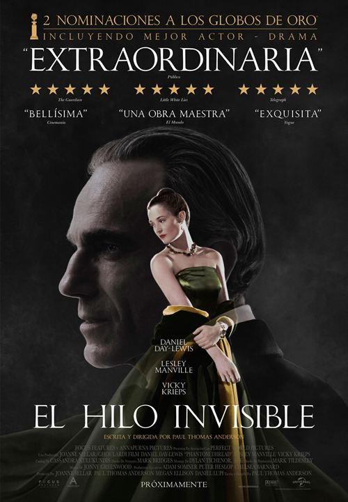 El hilo invisible : Cartel