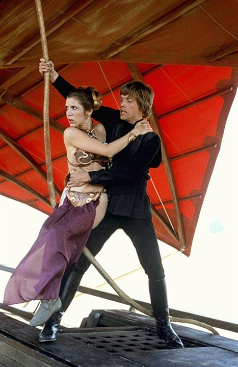 Star Wars: Episodio VI - El retorno del Jedi : Foto Carrie Fisher, Mark Hamill
