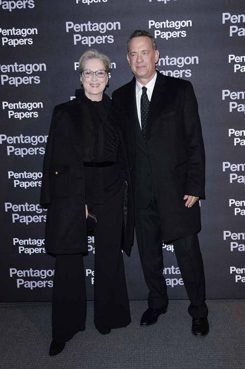 Los archivos del Pentágono : Couverture magazine Meryl Streep, Tom Hanks