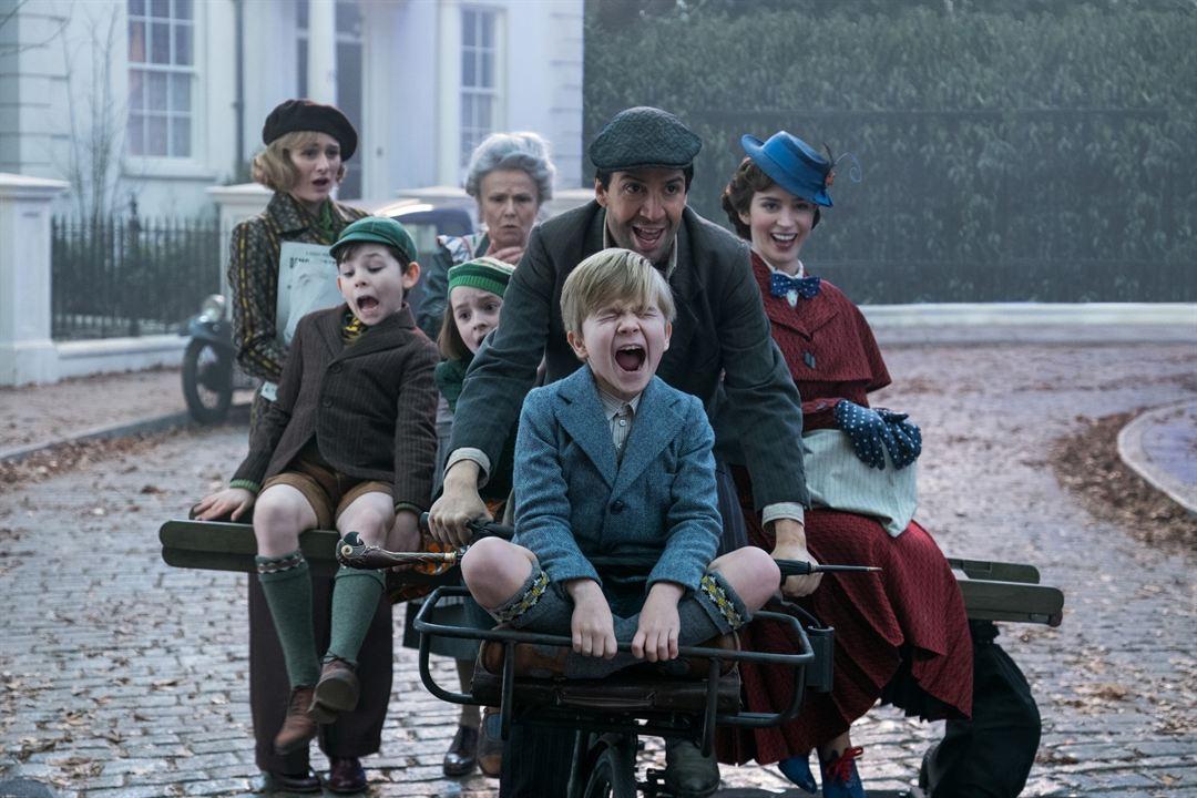 El regreso de Mary Poppins : Foto Emily Blunt, Emily Mortimer, Joel Dawson, Julie Walters, Lin-Manuel Miranda