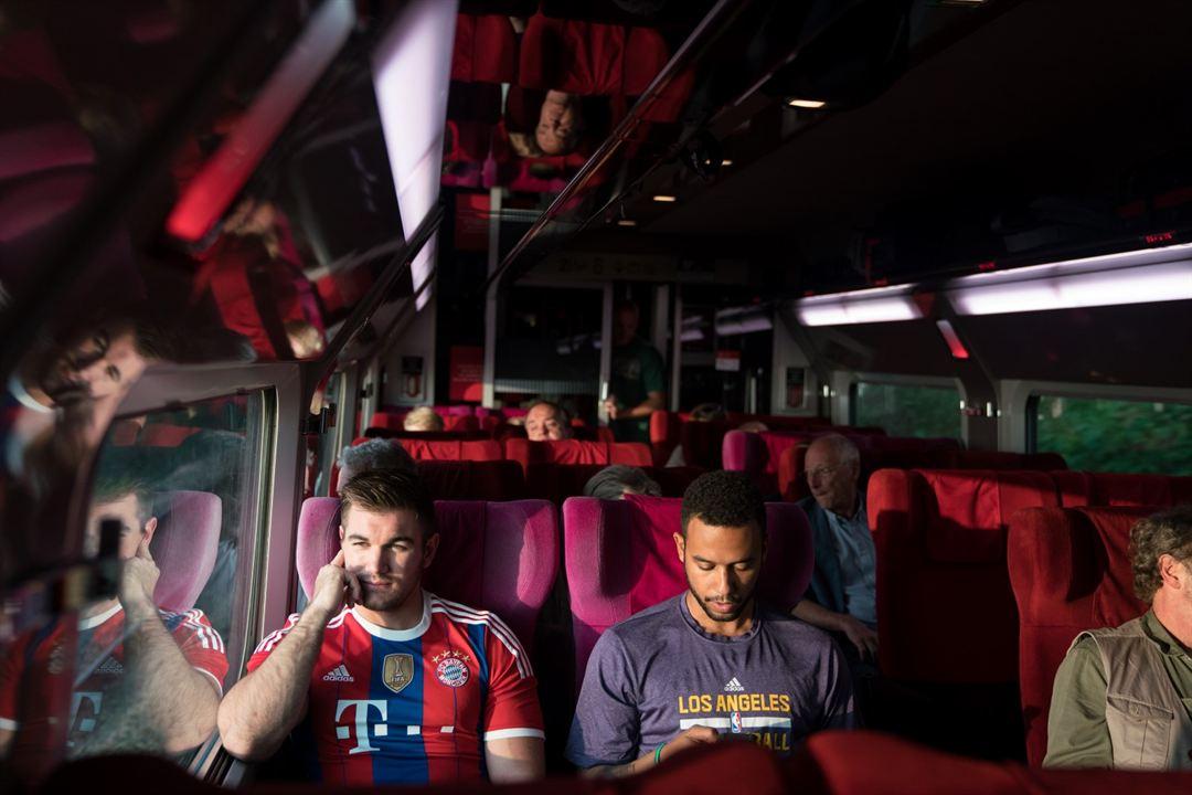 15.17 Tren a París : Foto Alek Skarlatos, Anthony Sadler
