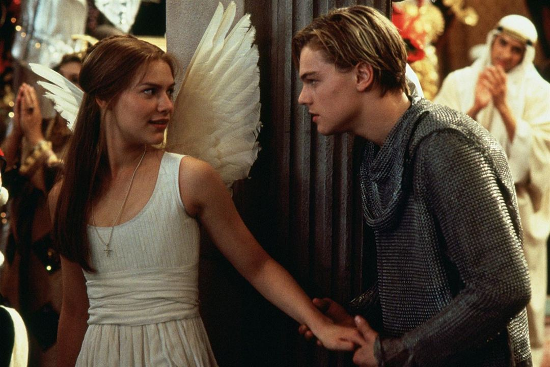 Romeo y Julieta, de William Shakespeare : Foto Claire Danes, Leonardo DiCaprio