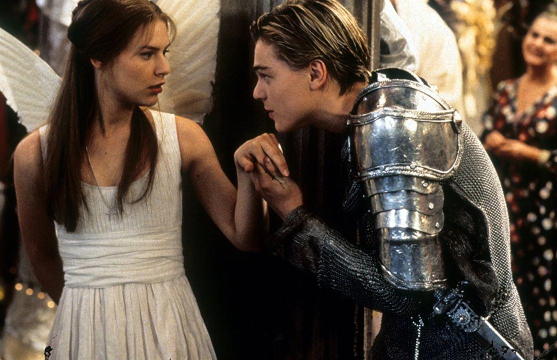 Romeo y Julieta, de William Shakespeare : Foto Claire Danes, Leonardo DiCaprio