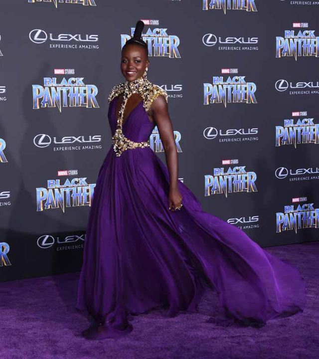 Black Panther : Couverture magazine Lupita Nyong'o