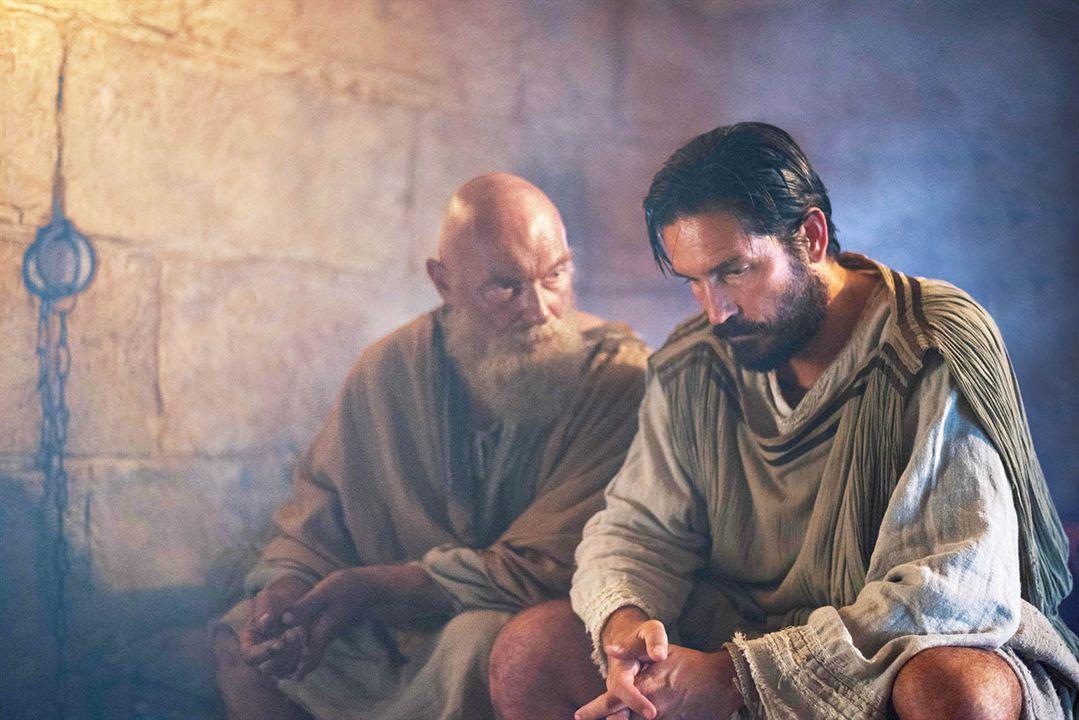 Pablo, el apóstol de Cristo : Foto James Faulkner, Jim Caviezel
