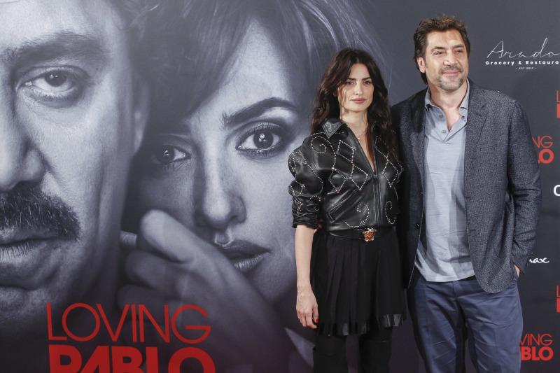 Loving Pablo : Couverture magazine Javier Bardem, Penélope Cruz