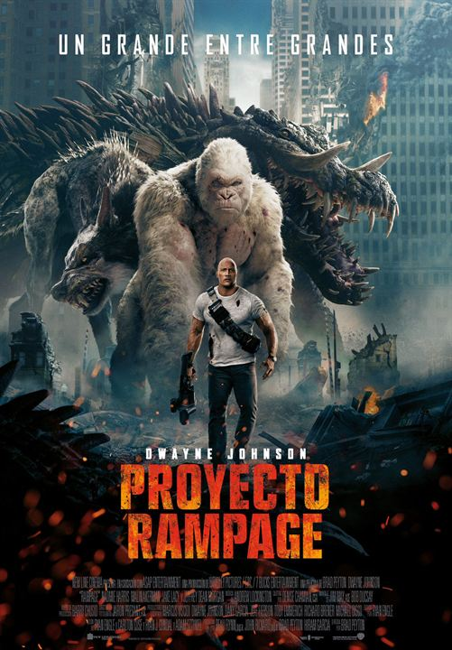 Proyecto Rampage : Cartel