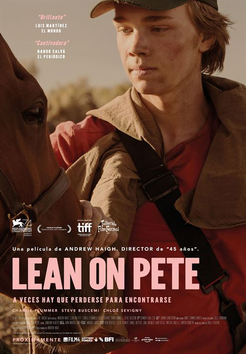 Lean On Pete : Cartel