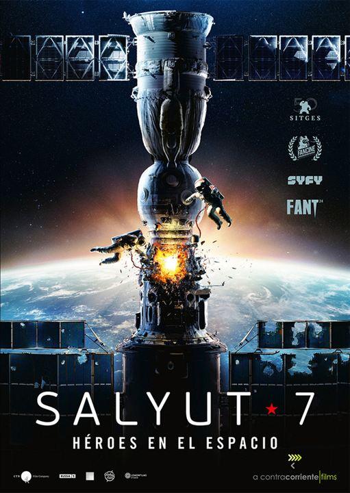 Salyut-7: Héroes en el espacio : Cartel
