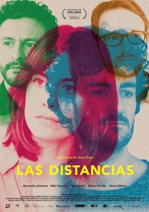 Las distancias : Cartel