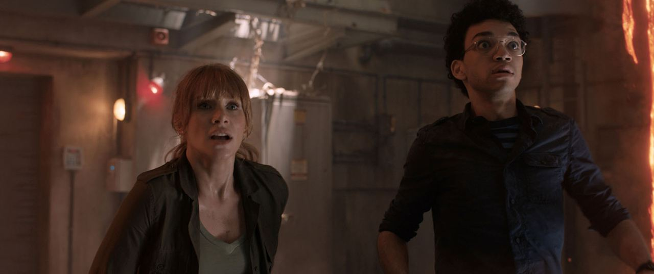 Jurassic World: El reino caído : Foto Bryce Dallas Howard, Justice Smith
