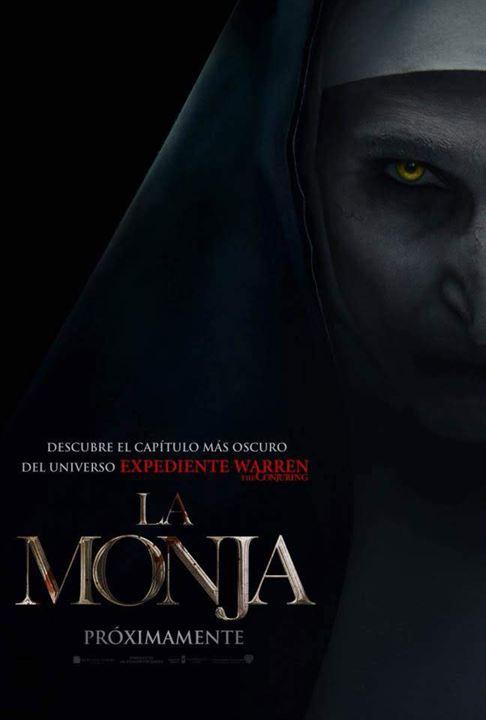 Resultado de imagen de cartel película la monja