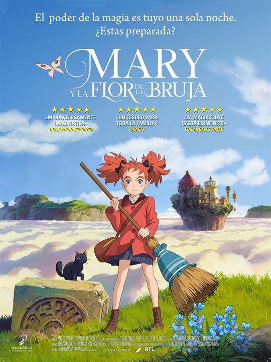 Mary y la flor de la bruja : Cartel