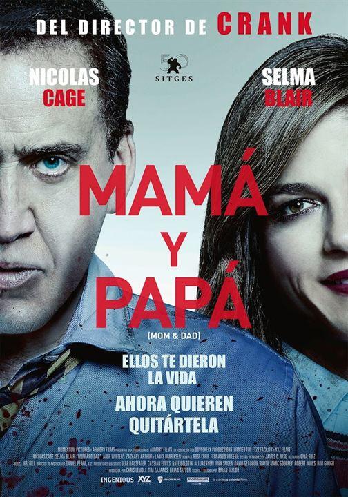 Mamá y papá : Cartel