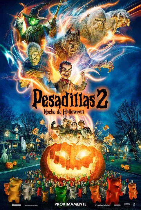 Pesadillas 2: Noche de Halloween : Cartel